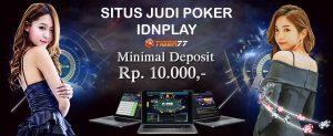 Daftar Situs Judi Poker Online Terbaik Terpercaya IDNPLAY Deposit 10rb